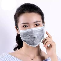Cheap Outside Activated Carbon Dust Mask Odorless Resist Bacteria / Other Microbe for sale