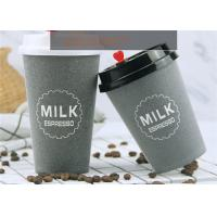 Cheap Thermal Insulation Double Wall Brown Kraft Paper Cups For Tea / Soup / Beverage for sale
