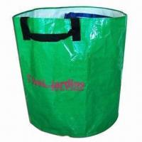 Cheap Round-shaped Garden Bag, Made of 150gsm PP Woven for sale