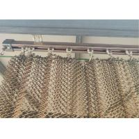 Buy cheap new stainless steel copper-colored flat silk spiral decoration net can do from wholesalers