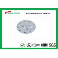 Cheap Electronic Aluminum PCB Manufacturer for LED lighting White Solder Mask Rould PCB for sale