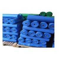 China Bright Luster Regenerated Polyester Fiber , Needle Punched Non Woven Fabric Roll on sale