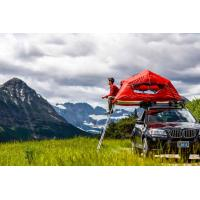 Cheap UV 50+ Roof Rack Camping Tent , Jeep Roof Mounted Tent Fashionable Design for sale