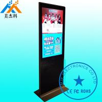 Cheap Ultrathin Touch Screen Digital Signage Displays , 42 Inch LCD Advertising Player With Wheels for sale
