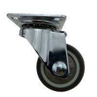 Cheap Top Swivel Plate Light Duty Casters Without Brake , Swivel Stem Casters for sale