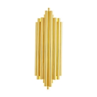 China W27*H40cm gold nordic post modern luxury wall lamp used in corridor bedside bedroom living room on sale