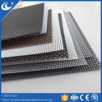 Cheap Anti-theft plastic coated Security Unbreakable Window Screen wholesale