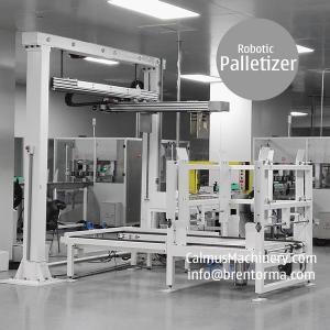 Cheap Carton Box Palletizing Equipment Robotic Case Palletizer for sale