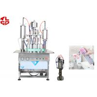 Cheap Car Air Freshener Spray Filling Machine , Automatic Aerosol Filling Machine for sale