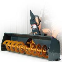 China wheel loader attachment snow blower on sale