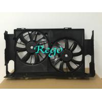 Mercedes A / C Double Car Radiator Cooling Fan With Motors Black / White Color