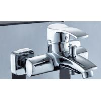 Cheap Adjustable Tap Nickel Bathroom Sink Faucet , Hot Cold Contemporary Kitchen Faucets for sale