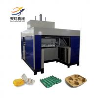 Cheap strawberry molding machine / pulp moulding fruit tray machine / seedling tray machine for sale