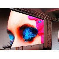 Cheap High Resolution P6 Indoor Rental Led Screens 1800nit 192mm × 96mm Module for sale