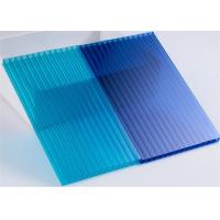 Cheap Alveolar Polycarbonate Covers Twinwall Polycarbonate Sheet for Awning and Greenhouse for sale