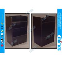 China Simple Black Commercial Display Cabinets Half Vision for Shopping Mall on sale