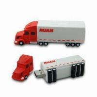 Buy cheap Advertising USB Flash Drive with 14 Months Warranty, Password Protection and from wholesalers