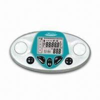 Cheap Body Fat Analyzer with Pedometer Function, Made of ABS Material for sale