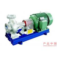 Single-Stage Suction Hot Oil Pumps For Industrial , Cantilever Type