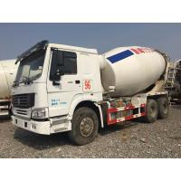 China HOWO Brand Used Concrete Mixer Truck 340hp Rated Power For Construction on sale