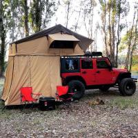 Cheap Customized Truck Pop Up Roof Top Tent Streamlined Design For Family for sale