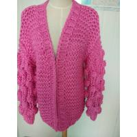 Cheap Hand Knit Cardigan, Handmade Sweater, Handcrafted Pullover for sale