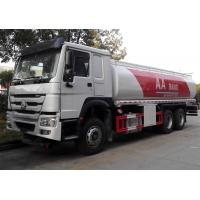 China Petrol Diesel Tank Fuel Delivery Truck 20 Ton 25000 Liters High Performance on sale
