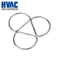 "Cheap 2"" stainless steel welded D rings stainless steel D rings are used a lot in removable reusable insulation covers for sale"