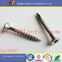 Cheap Stainless Steel Torx Flat Head Type 17 Deck Screws for sale