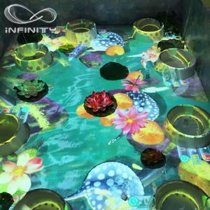 Cheap Children Playground 3D Interactive Floor Projector , Infinity Interactive Floor Projection System for sale