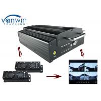 Cheap 720P HD 3G Mobile DVR with 4CH Mobile DVR CMS platform for CIty Bus for sale