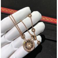 Buy cheap Charming Cerchi Astrale 18K Rose Gold Diamond Necklace Customization Available from wholesalers