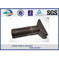 Cheap Q235 5.6 8.8 Class HS26 / HS32 Railway Bolt Plain Railroad Bolts for sale