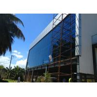 Multi Floor Steel Structure Office Building With Glass Curtain Wall