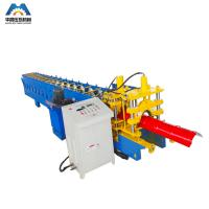 China Metal Roof Profile Ridge Cap Roll Forming Machine / Ridge Tile Machine 380V 50Hz on sale