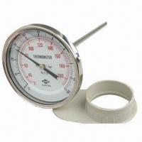 Cheap Bimetal Thermometer (T), Case made of Stainless Steel for sale