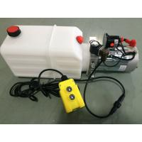 Cheap mini Hydraulic Power Packs 12V DC 1.6kw with 8L plastic tank max pressure 210bar wholesale