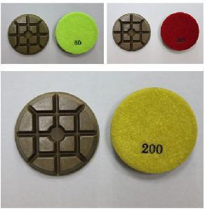 """Cheap XY-4FSZ Flexible 4"""" Metal Resin Concrete Pad for sale"""