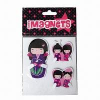 Cheap Cartoon Refrigerator Magnets, Interesting Design, Customized Designs are Accepted for sale