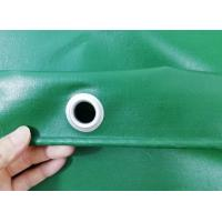 Cheap 650gsm Waterproof UV Stabilized PVC Truck Cover B1 Flame Retardant In Green Color for sale