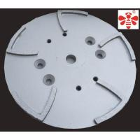 China White Diamond Cutting Blade , 10 Inch Grinding Head  Diamond Cup Wheel  Floor Grinding Plate on sale