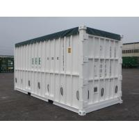 Cheap Special Open Top Shipping Container Custom Color High Steel Easy Operation for sale