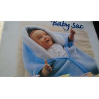 Quality polyester fleece cartoon print children blanket fabric (baby sac )/size 80X100CM wholesale