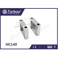 Cheap Pedestrian Access Control Turnstile Gate Overall Plate Structure For Entrance Control for sale