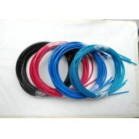 Cheap Colorful Wire Rope Assembly , Wire Rope And Fittings Black /  Red / Blue Vinyl / PVC / PU / PA for sale