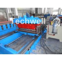Cheap High Speed Metal Tile Cold Roll Forming Machine With Servo Flying Cutting Type for sale