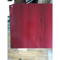 Cheap PVC Faux Wood Laminate Sheets Low Carbon Glossy Printing 1220×2440 mm wholesale