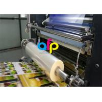 Cheap Water Based Laminate Cold Laminating Film , Multiple Extrusion BOPP Plastic Film for sale