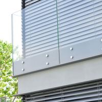 Quality Exterior 15mm Clear Toughened Safety Frameless Glass Panels Balcony Railing wholesale