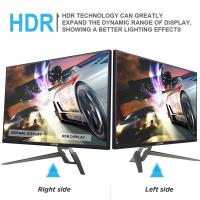 Cheap High Brightness 1440p 144hz Gaming Monitor / FreeSync Gaming Computer Screen for sale